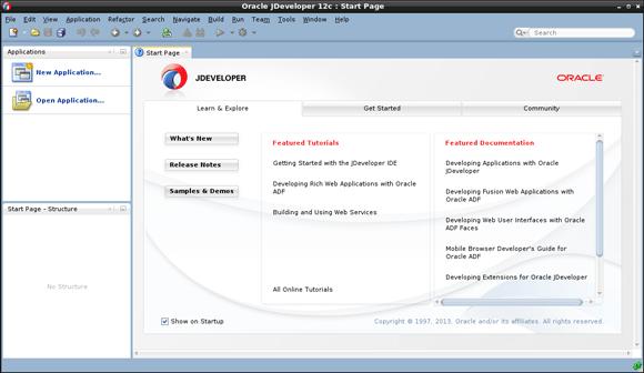 How to Install JDeveloper 12c Linux Mint 19 - JDeveloper Java Edition GUI