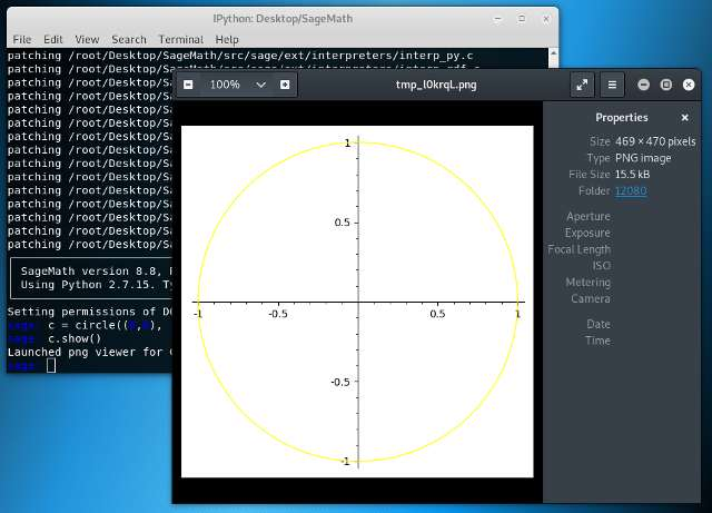 How to Install SageMath Command Line Only on Solus GNU+Linux - SageMath CLI and Plot