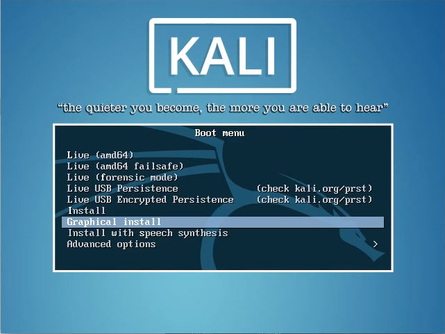 How to Install Kali 2016 on Windows 8 Computers Step-by-Step Guide - Graphical Install