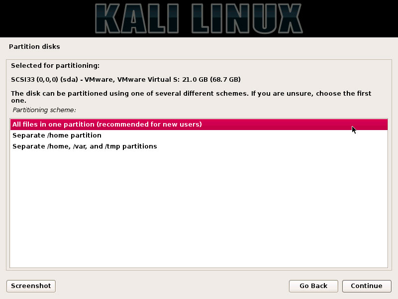 How Partitioning for Kali Installation on Windows 10 Computers -