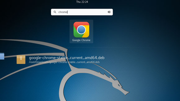 How to Install Google-Chrome Browser on Kali Linux 2019 - Chrome