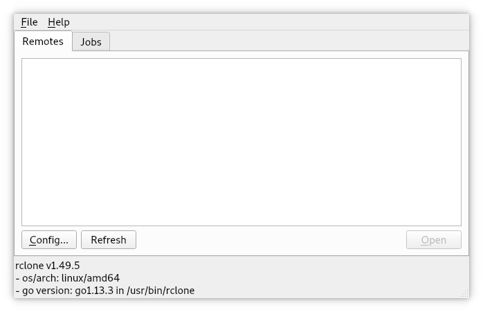 How to Install Rclone Browser in Linux Mint 19 - UI