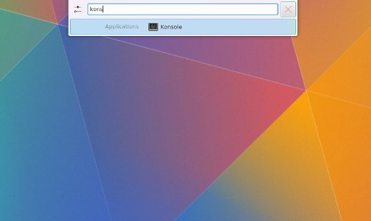 How to Install Photoshop CS6 on Kubuntu 18.04 Bionic - Open Terminal