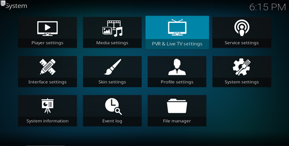 Linux How to Quick Start with Kodi Live TV on GNU/Linux Distributions - PVR Live TV