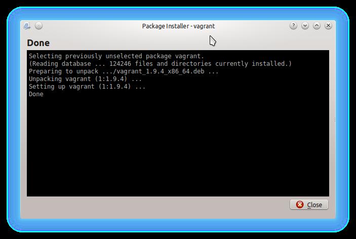 How to Quick Start with Vagrant on Kubuntu 14.04 Trusty - QApt 1