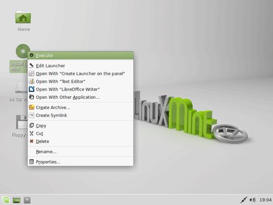 Install Linux Mint 17 Qiana Xfce on Top of Windows 8 - Start Installation