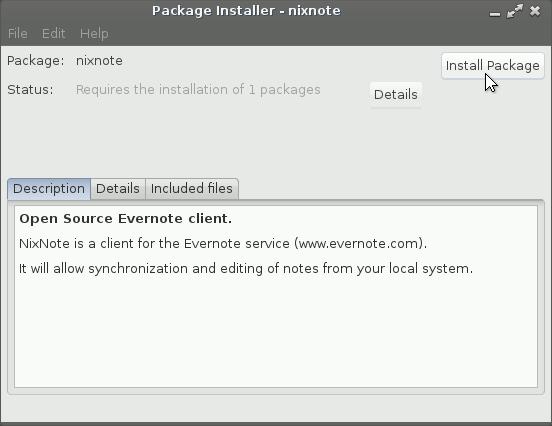 Linux Lite Start Evernote Linux Clone Installation