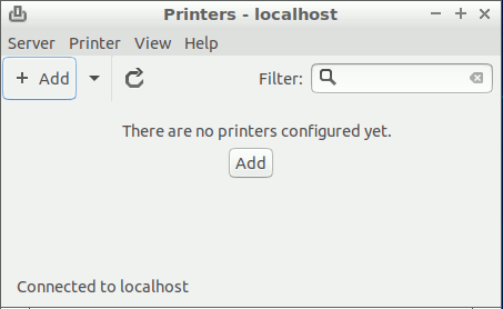 Linux Lxde Add Printer Easy Guide - Add
