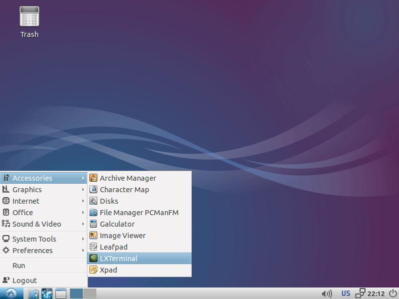 Lubuntu 14.10 Utopic Installation Steps on Top of Windows 8 - lubuntu 14.10 utopic unicorn desktop