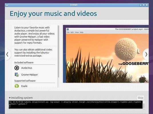 Lubuntu 14.10 Utopic Installation Steps on Top of Windows 8 - installing