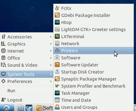 Linux Lxde Add Printer Easy Guide - Device Manager