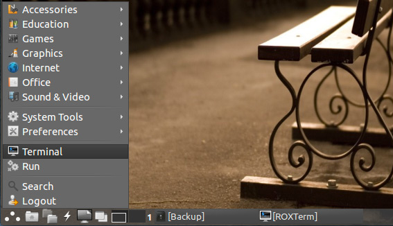 How to Install Canon Scanner on LXLE Linux - Open Terminal