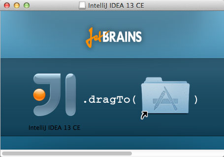 Install IntelliJ IDEA 2020 on Mac OS X - Drag and Drop