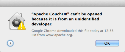- Mac App from Unidentified Developer