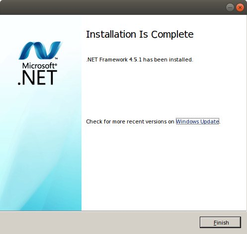 How to Install .NET 4.5 Lubuntu 18.04 with Wine - Success