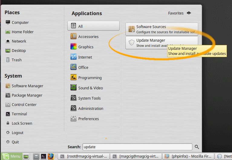 How to Upgrade from Linux Mint 18 Sarah to Linux Mint 18.1 Serena - Update Manager