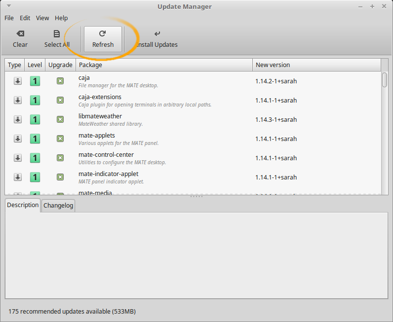 How to Upgrade from Linux Mint 18 Sarah to Linux Mint 18.1 Serena - Refresh