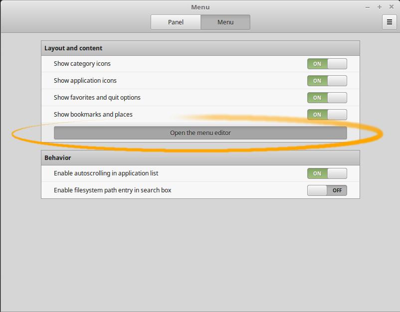 Linux Mint Cinnamon How to Create a Main Menu New App Launcher