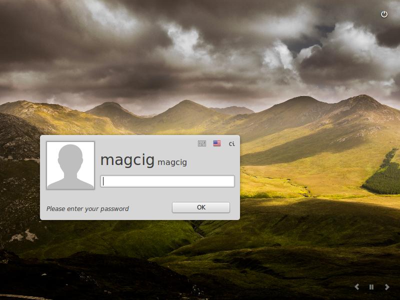 Install Linux Mint 18.1 Serena Mate Alongside Windows 7 - Login