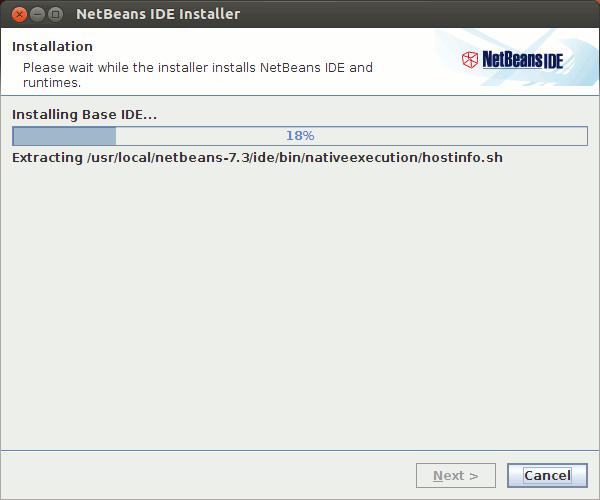 Ubuntu Linux Netbeans Installing