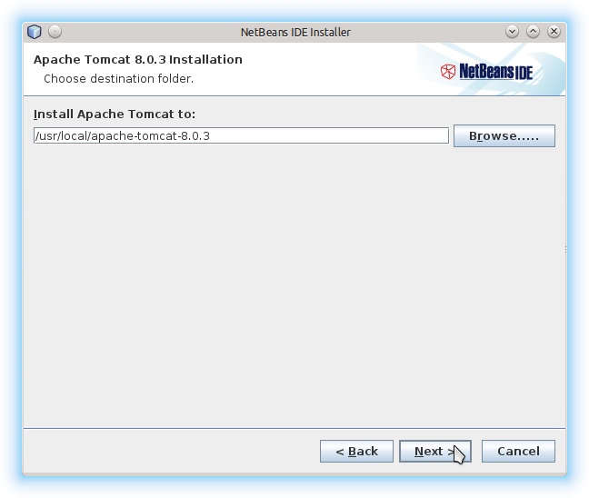 Getting-Started with Netbeans 8.x IDE All on Lubuntu 14.10 Utopic - Apache Tomcat 8 Server