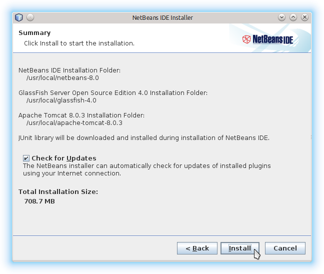 Getting-Started with Netbeans 8.x IDE All on Lubuntu 14.10 Utopic - Start Installation