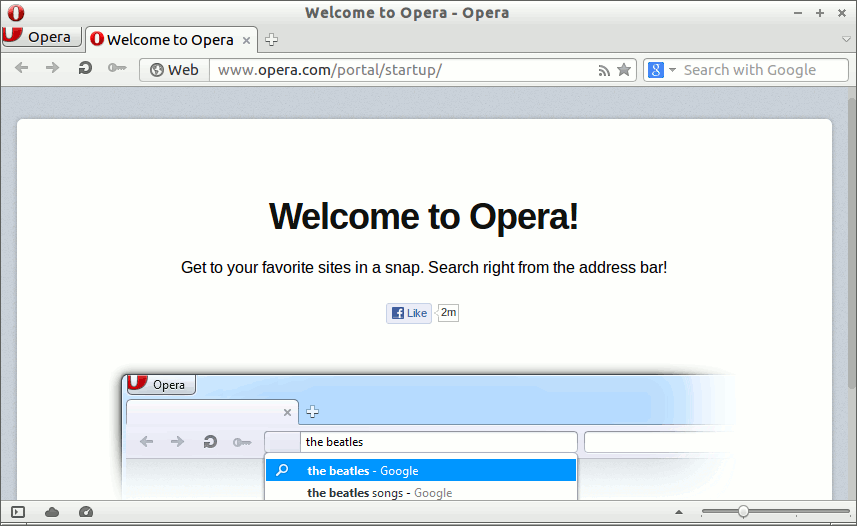 Install Opera Kubuntu 14.04 Trusty - Welcome To Opera Browser