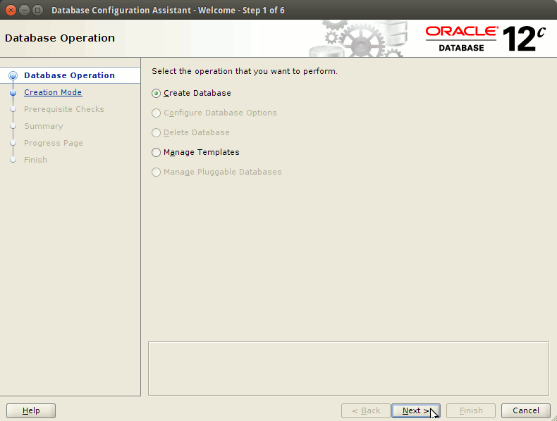 How to Create a Database Oracle 12c - Create Database