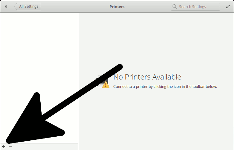 Linux Pantheon Add Printer Easy Guide - Adding Printer