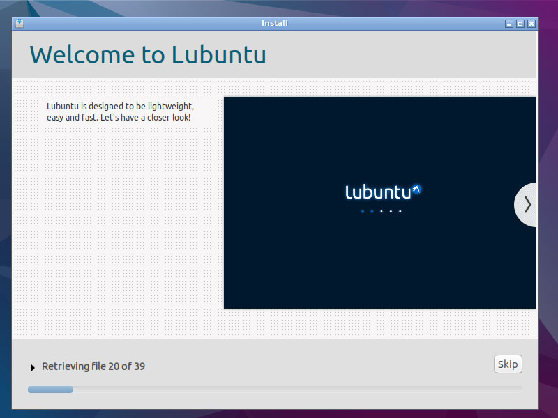 Lubuntu 16.04 Paralles Virtual Machine Installation - Installing