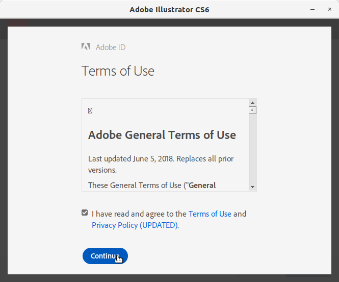 How to Install Adobe Illustrator CS6 in RedHat Linux - 11 Adobe Illustrator CS6 Installer