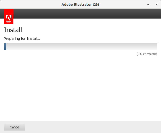 How to Install Adobe Illustrator CS6 in RedHat Linux - 8 Adobe Illustrator CS6 Installer