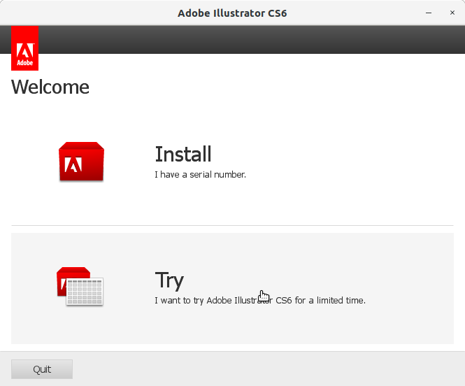 How to Install Adobe Illustrator CS6 in RedHat Linux - 3 Adobe Illustrator CS6 Installer