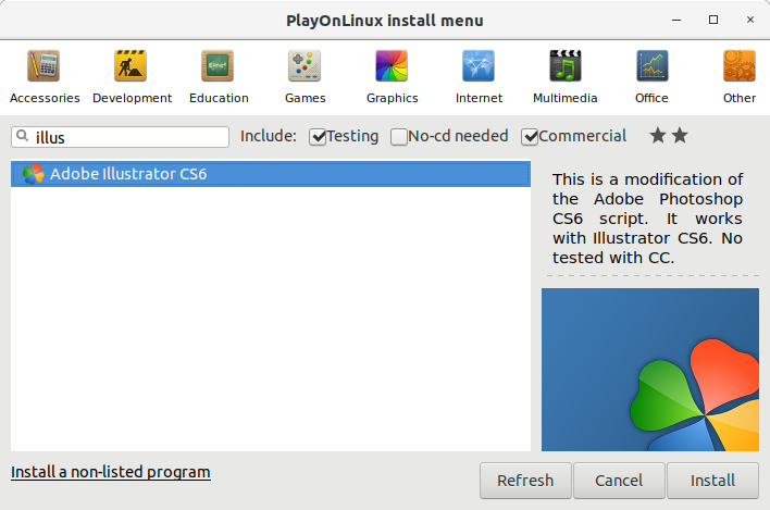 How to Install Adobe Illustrator CS6 in RedHat Linux - 0