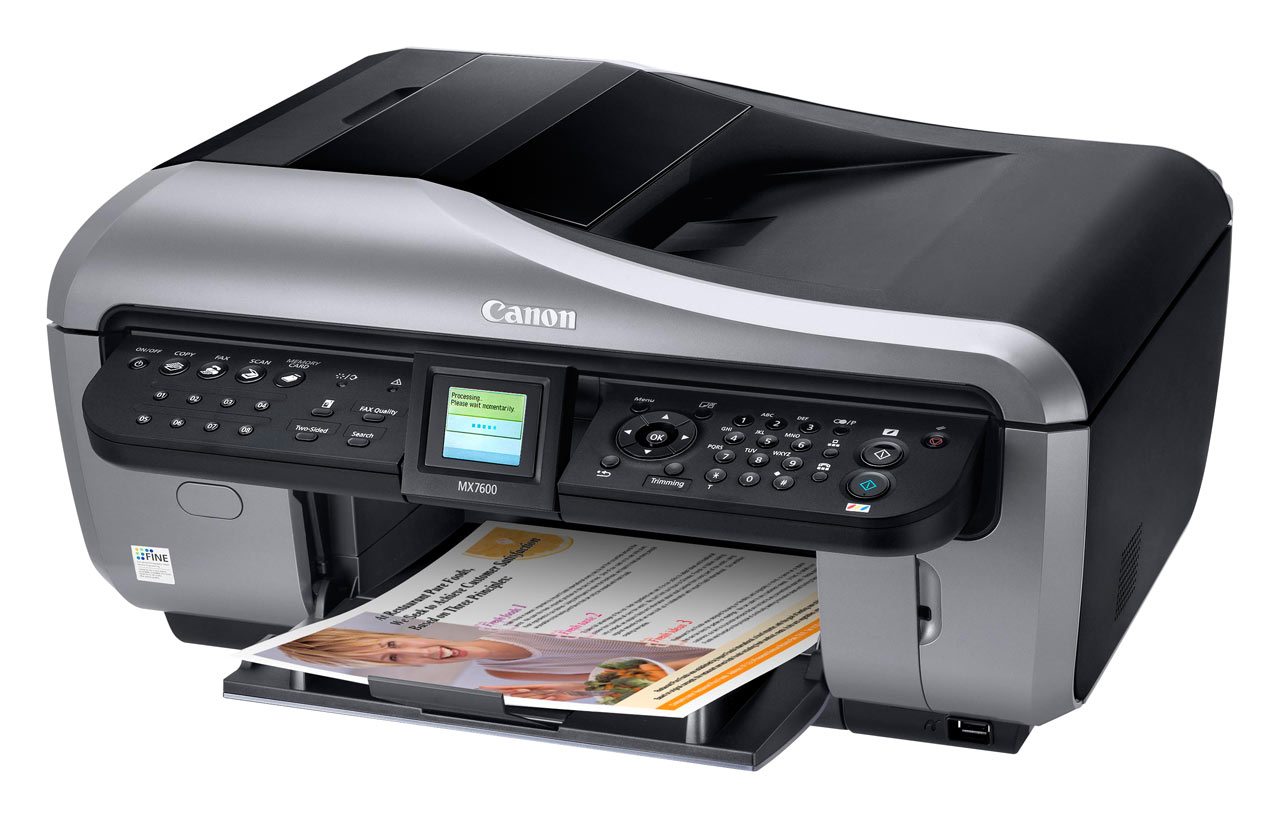 Printer Canon MX7600 Linux Mint 19 Driver Installation Easy Guide - Featured