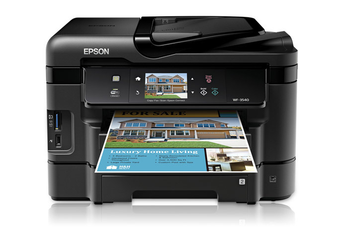 Driver Epson WF-3540 Ubuntu How to Download and Install  - Featured