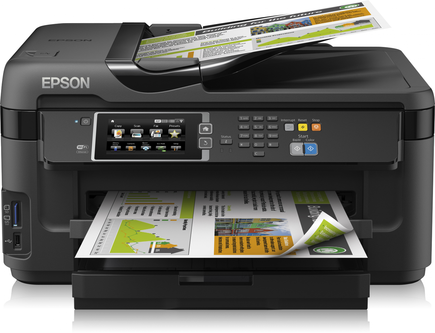 Driver Epson WF-7610|WF-7620 Ubuntu How to Download and Install  - Featured