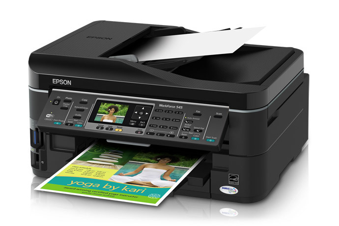 Driver Epson WorkForce 545 Ubuntu 18.04 How to Download and Install -  Featured