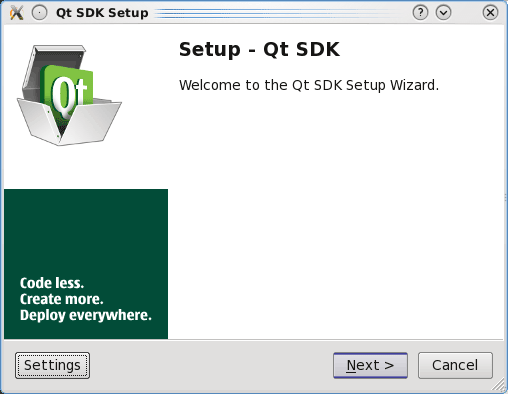 Installing QT5 SDK for Linux 1