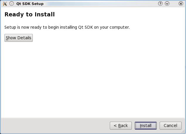 Installing QT5 SDK for Linux 4