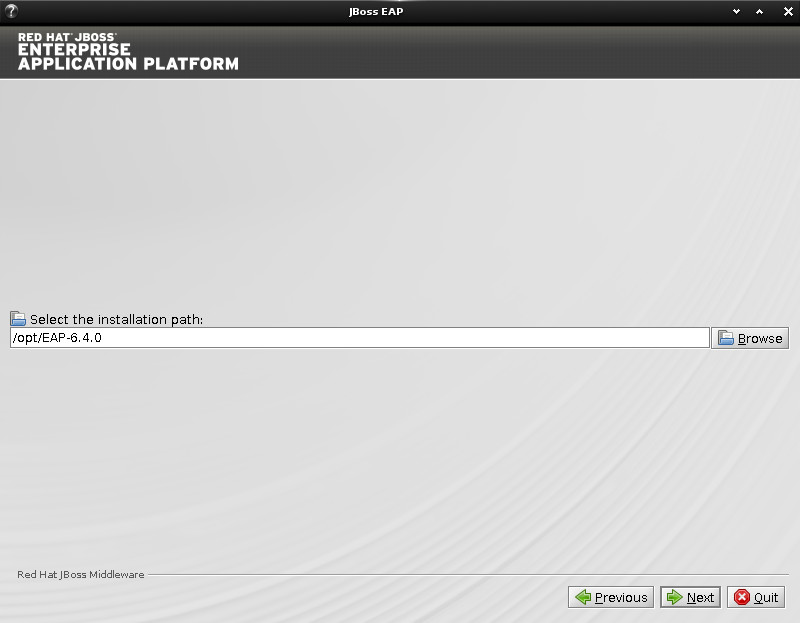 JBoss EAP Installation on Ubuntu 14.10 Utopic Linux - Path