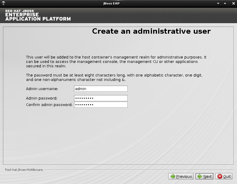 JBoss EAP Installation on Ubuntu 14.10 Utopic Linux - Admin
