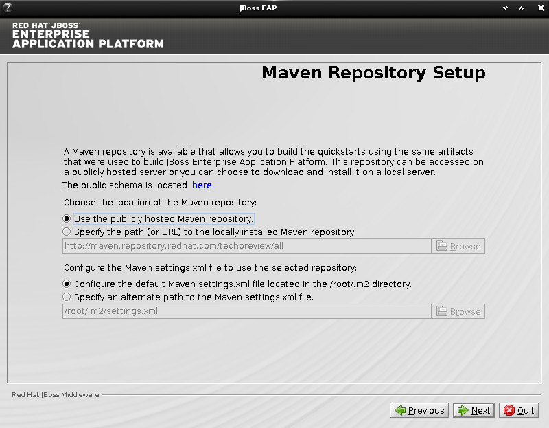 JBoss EAP Installation on Ubuntu 14.10 Utopic Linux - Maven