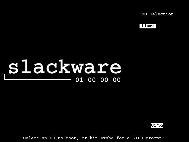 How to Install Slackware 14.2 Dual Boot Windows 10 - Booting Slackware