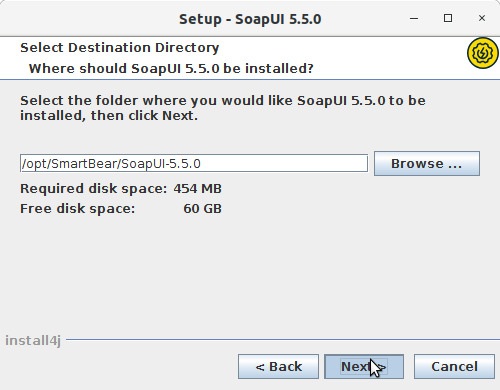 How to Install SoapUI Open-Source in Ubuntu 16.04 Xenial LTS - Install Location