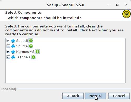 How to Install SoapUI Open-Source in Ubuntu 16.04 Xenial LTS - Components