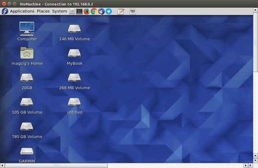 Quick-Start NoMachine Client Remote Desktop Connection on CentOS - Remote Desktop