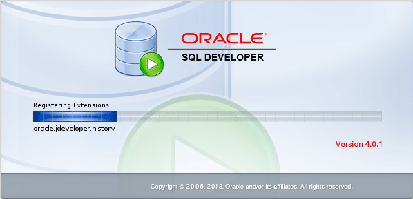 How to Install Oracle Sql Developer Fedora 20 - Launching