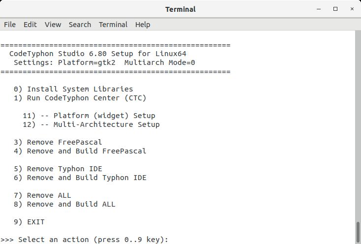 - Terminal Setup