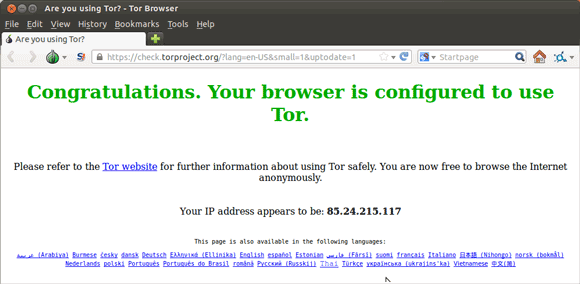 Linux Tor Browser Getting-Started Guide - Tor Firefox Browser